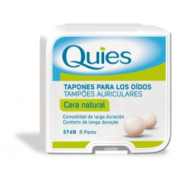 Quies Tapón Cera Natural