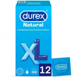 Durex Natural XL 12uds