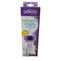 Dr. Brown´s Biberon BA Morado 270ml