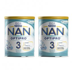 Nestle  Nan 3 Optipro Pack 2X800gr