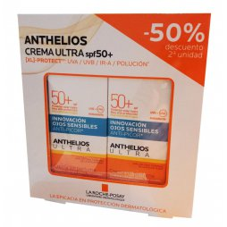 Anthelios Duplo Crema Ultra SPF50+ 2X50ml