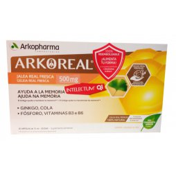 Arkoreal Intelectum 500mg 20 ampollas