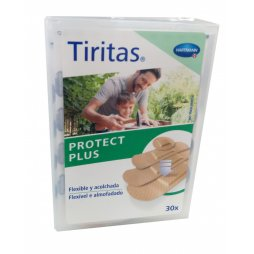 Tiritas Protect Plus 30uds