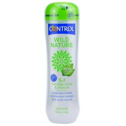 Control Gel Lubricante 3 en 1 Wild Nature 200ml